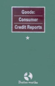 Goode: Consumer Credit Reports