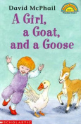 A Girl, a Goat, and a Goose