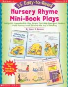 15 Easy-To-Read Nursery Rhyme Mini-Book Plays