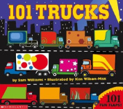 101 Trucks [Board book]