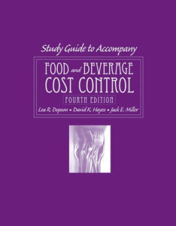 Food and Beverage Cost Control: Study Guide