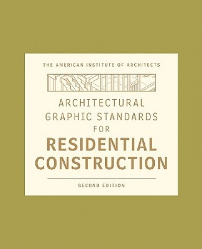 architectural graphic standards for residential construction pdf