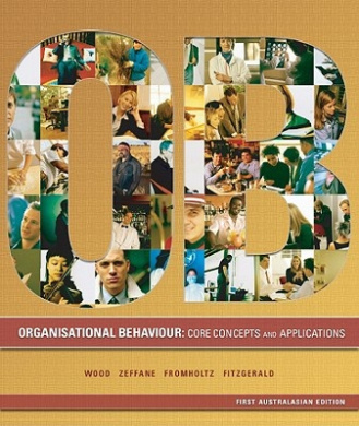 organisational behaviour core concepts and applications 4e