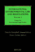 International Environmental Law and Regulations