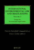 International Environmental Law and Regulations
