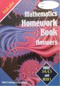 Maths Homework Book Answers