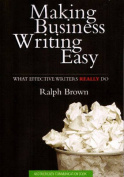 Making Business Writing Easy