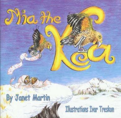 Mia the Kea