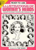 Ready-to-Use Illustrations of Women's Heads