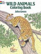 Wild Animals Colouring Book