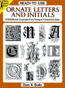 Ready-to-Use Ornate Letters and Initials