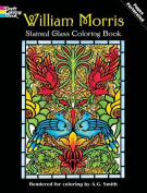 William Morris Stained Glass Colouring Book