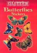 Glitter Butterflies Stickers