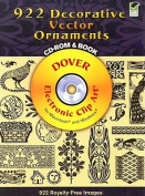 922 Decorative Vector Ornaments [With CDROM]