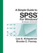 A Simple Guide to SPSS for Windows