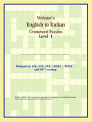 Webster's English to Italian Crossword Puzzles