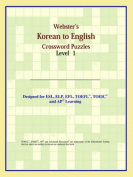 Webster's Korean to English Crossword Puzzles