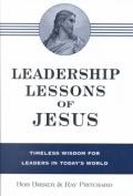 Leadership Lessons of Jesus