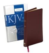 KJV Pitt Minion Reference Edition, R182 Burgundy Bonded Leather