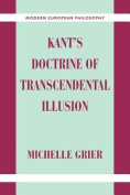 Kant's Doctrine of Transcendental Illusion