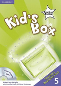 Kid's Box American English Level 5 Teacher's Resource Pack with Audio CDs