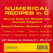 Numerical Recipes in C 3.5 Inch Diskette for Windows
