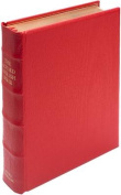 REB Lectern Bible, Red Imitation Leather Over Boards RE932:TB