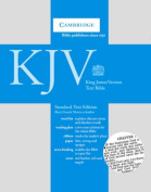 KJV Standard Text Edition Black French Morocco Leather 43