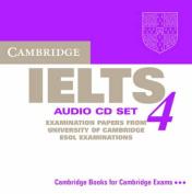 Cambridge IELTS 4 Audio CD Set [Audio]
