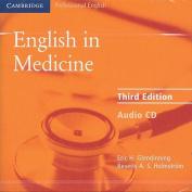 English in Medicine Audio CD [Audio]
