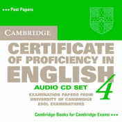 Cambridge Certificate of Proficiency in English 4 Audio CD Set [Audio]
