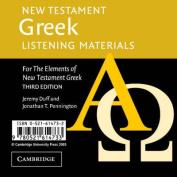 New Testament Greek Listening Materials [Audio]