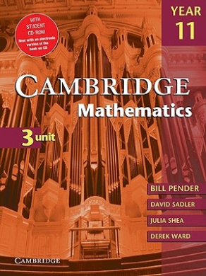 Cambridge 3 Unit Mathematics Year 11 with CD-Rom (Cambridge Secondary Maths (Australia) S.)