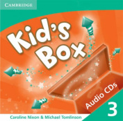 Kid's Box 3 Audio CDs (2)  [Audio]