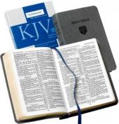 KJV Personal Concord Reference Edition KJ462:XR Grey Imitation Leather