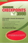 Cambridge Checkpoints VCE Health and Human Development Units 3 and 4 2008