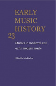 Early Music History 25 Volume Paperback Set
