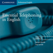 Essential Telephoning in English Audio CD  [Audio]
