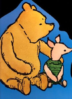 Pooh and Piglet Giant Board Book (Board Books) A. A. Milne and Ernest H. Shepard