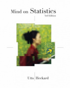 Mind on Statistics W/CD 3e