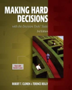 Making Hard Decisions with Decisiontools Suite