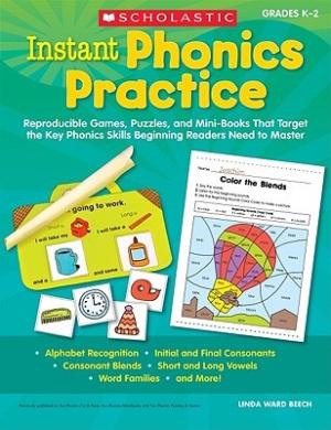 Free download Instant Phonics Practice, Grades K-2 Epub