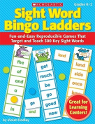 Sight Word Bingo Ladders, Grades K-2