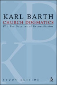 Church Dogmatics Study Edition 21
