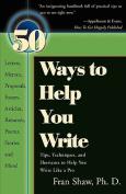 50 Ways to Help You Write
