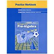Practice Workbook Pre-Algebra
