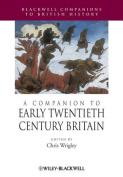 A Companion to Early Twentieth-century Britain