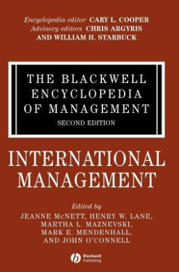 Free PDF The Blackwell Encyclopedia of Management