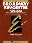 Essential Elements Broadway Favorites for Strings - Viola