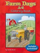 Farm Days A-Z Coloring Book